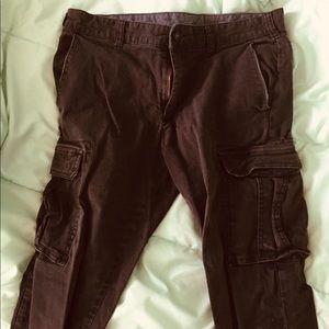 men's bullhead grey cargo pants, w 31 & l 32!